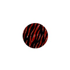 Skin3 Black Marble & Red Marble 1  Mini Button