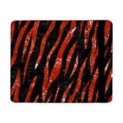 Skin3 Black Marble & Red Marble Samsung Galaxy Tab Pro 8 4  Flip Case by trendistuff