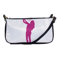 Selfie Girl Graphic Shoulder Clutch Bags by dflcprints