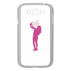 Selfie Girl Graphic Samsung Galaxy Grand Duos I9082 Case (white) by dflcprints