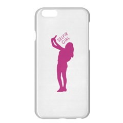 Selfie Girl Graphic Apple Iphone 6 Plus/6s Plus Hardshell Case by dflcprints