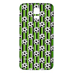 Ball Line Samsung Galaxy S5 Back Case (white) by Jojostore