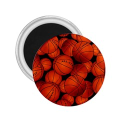 Basketball Sport Ball Champion All Star 2 25  Magnets by Jojostore