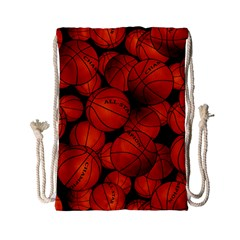 Basketball Sport Ball Champion All Star Drawstring Bag (small) by Jojostore