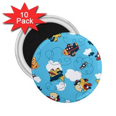 Bear Aircraft 2.25  Magnets (10 pack)  by Jojostore