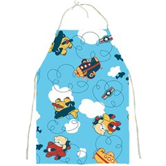 Bear Aircraft Full Print Aprons by Jojostore