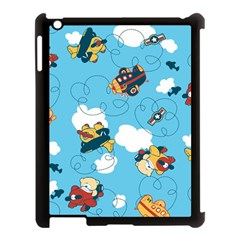 Bear Aircraft Apple iPad 3/4 Case (Black) by Jojostore
