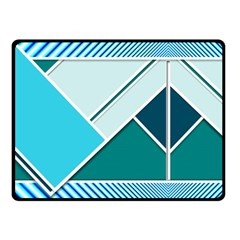 Logo Concept Banner Header Idea Fleece Blanket (small) by Amaryn4rt