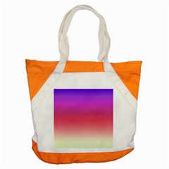 Blue Pink Purple Red Accent Tote Bag by Jojostore