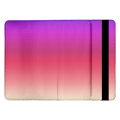 Blue Pink Purple Red Samsung Galaxy Tab Pro 12 2  Flip Case by Jojostore
