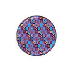 Batik Hat Clip Ball Marker (4 Pack) by Jojostore