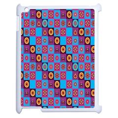 Batik Apple Ipad 2 Case (white) by Jojostore