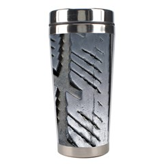 Mature Black Auto Altreifen Rubber Pattern Texture Car Stainless Steel Travel Tumblers by Amaryn4rt