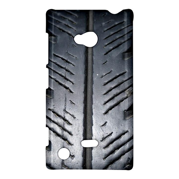 Mature Black Auto Altreifen Rubber Pattern Texture Car Nokia Lumia 720