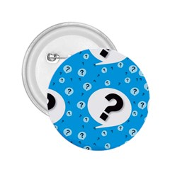 Blue Question Mark 2 25  Buttons by Jojostore