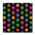 Pattern Background Colorful Design Tile Coasters