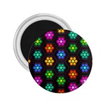 Pattern Background Colorful Design 2.25  Magnets