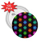 Pattern Background Colorful Design 2.25  Buttons (100 pack)