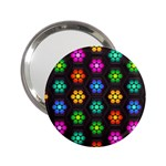 Pattern Background Colorful Design 2.25  Handbag Mirrors
