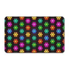 Pattern Background Colorful Design Magnet (Rectangular)
