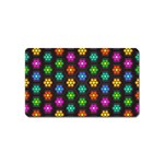 Pattern Background Colorful Design Magnet (Name Card)