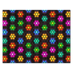Pattern Background Colorful Design Rectangular Jigsaw Puzzl