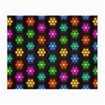 Pattern Background Colorful Design Small Glasses Cloth