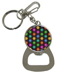 Pattern Background Colorful Design Button Necklaces