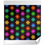 Pattern Background Colorful Design Canvas 8  x 10
