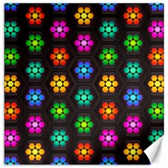 Pattern Background Colorful Design Canvas 16  x 16