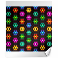 Pattern Background Colorful Design Canvas 16  x 20