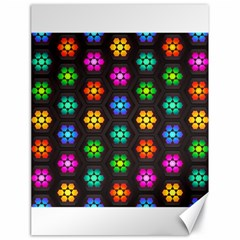 Pattern Background Colorful Design Canvas 18  x 24