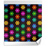 Pattern Background Colorful Design Canvas 20  x 24