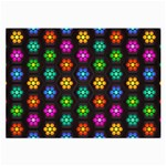 Pattern Background Colorful Design Large Glasses Cloth