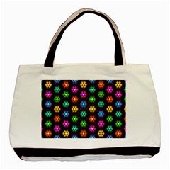 Pattern Background Colorful Design Basic Tote Bag (Two Sides)