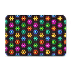 Pattern Background Colorful Design Small Doormat