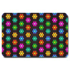 Pattern Background Colorful Design Large Doormat
