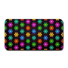 Pattern Background Colorful Design Medium Bar Mats