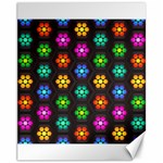 Pattern Background Colorful Design Canvas 11  x 14
