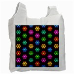 Pattern Background Colorful Design Recycle Bag (One Side)