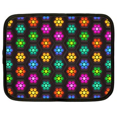 Pattern Background Colorful Design Netbook Case (XL)