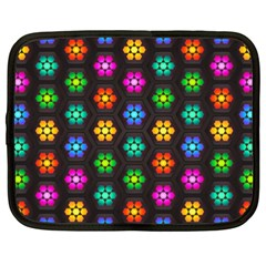 Pattern Background Colorful Design Netbook Case (XXL)