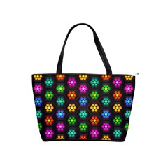 Pattern Background Colorful Design Shoulder Handbags
