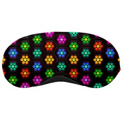 Pattern Background Colorful Design Sleeping Masks