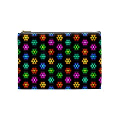 Pattern Background Colorful Design Cosmetic Bag (Medium)