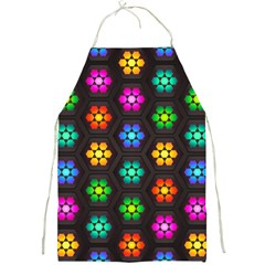 Pattern Background Colorful Design Full Print Aprons