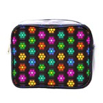 Pattern Background Colorful Design Mini Toiletries Bags