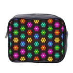 Pattern Background Colorful Design Mini Toiletries Bag 2-Side