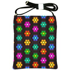 Pattern Background Colorful Design Shoulder Sling Bags