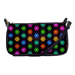 Pattern Background Colorful Design Shoulder Clutch Bags